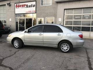 Used 2003 Toyota Corolla AUTOMATIQUE for sale in Mirabel, QC