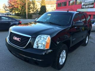 Used 2013 GMC Yukon 4WD 4dr 1500 SLE for sale in Surrey, BC