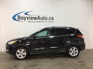 Used 2013 Ford Escape - ECOBOOST! KEYPAD! HTD SEATS! NAV! CRUISE! for sale in Belleville, ON