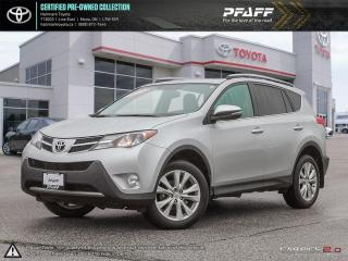 Used 2015 Toyota RAV4 AWD LIMITED for sale in Orangeville, ON