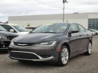 Used 2016 Chrysler 200 LIMITED *GPS*CAMÉRA* for sale in Brossard, QC