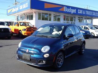 Used 2015 Fiat 500 Leather Seating, Automatic, Bluetooth for sale in Vancouver, BC