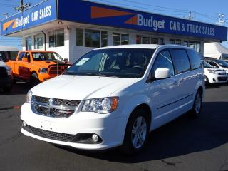 Used 2017 Dodge Grand Caravan Crew Edition, Leather Seating, Power Slide Doors for sale in Vancouver, BC