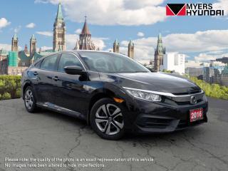 Used 2016 Honda Civic LX Sedan CVT for sale in Bells Corners, ON