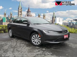 Used 2015 Chrysler 200 LX for sale in Bells Corners, ON