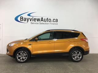 Used 2016 Ford Escape - ECOBOOST! CHROMES! KEYPAD! HTD SEATS! WIFI! SYNC! for sale in Belleville, ON