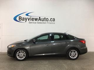 Used 2016 Ford Focus - ALLOYS! FLEX FUEL! A/C! REVERSE CAM! SYNC! for sale in Belleville, ON