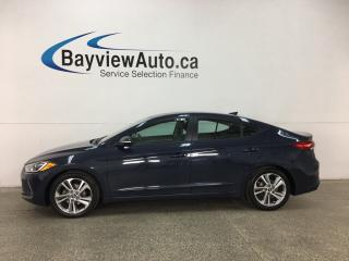 Used 2017 Hyundai Elantra GLS - ALLOYS! SUNROOF! HTD SEATS! BSA! HTD STEERING WHEEL! for sale in Belleville, ON