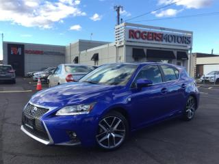 Used 2015 Lexus CT 200h - F SPORT - NAVI - REVERSE CAM for sale in Oakville, ON
