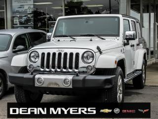 Used 2015 Jeep Wrangler Unlimited Sahara for sale in North York, ON