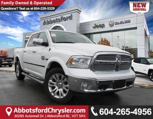 Used 2016 RAM 1500 Longhorn *LOCALLY DRIVEN* for sale in Abbotsford, BC