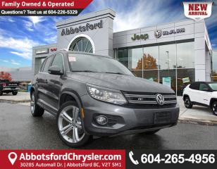 Used 2014 Volkswagen Tiguan Highline *ACCIDENT FREE* *LOCALLY DRIVEN* for sale in Abbotsford, BC