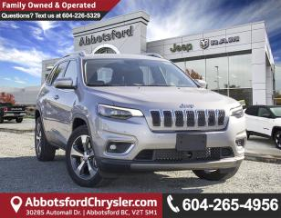 New 2019 Jeep Cherokee Limited for sale in Abbotsford, BC