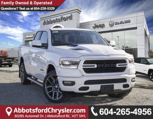 New 2019 RAM 1500 Sport/Rebel for sale in Abbotsford, BC