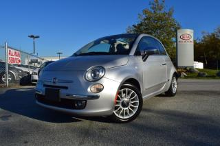 Used 2013 Fiat 500 Lounge PL/PW/AUTO for sale in Quesnel, BC