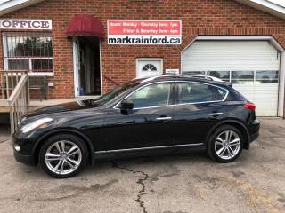 Used 2012 Infiniti EX35 Premium V6 AWD Loaded 360 View Cam Back up Cam for sale in Bowmanville, ON