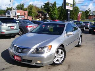 Used 2005 Acura RL AWD,Bluetooth,Sunroof,Leather,Fog Lights,,, for sale in Kitchener, ON