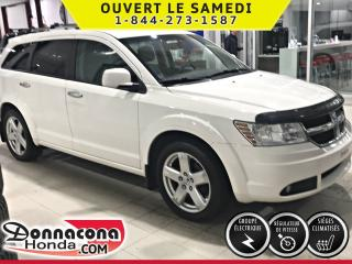 Used 2010 Dodge Journey R/T ***TRACTION INTÉGRALE***EN CUIR*** for sale in Donnacona, QC