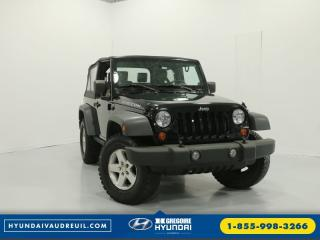 Used 2007 Jeep Wrangler Rubicon 4x4 A/c for sale in Vaudreuil-Dorion, QC