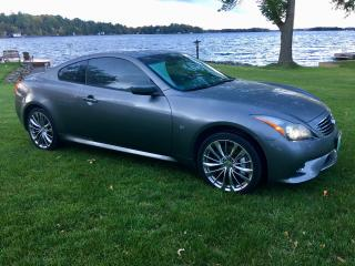 Used 2014 Infiniti Q60 Sport AWD ONLY 33500 km for sale in Perth, ON