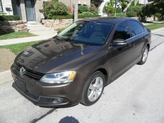 Used 2013 Volkswagen Jetta AUTOM,TDI, LOW KMS, ONE OWNER, NO ACCIDENTS, CERTI for sale in Toronto, ON