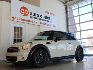 Used 2012 MINI Cooper Hardtop Base hatchback 2-dr, Panoramic Roof, 4 passenger, Leather, Heated seats, manual transmission for sale in Red Deer, AB