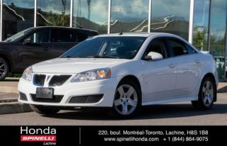 Used 2009 Pontiac G6 SE for sale in Lachine, QC