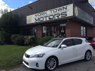 Used 2012 Lexus CT 200h TechPack|NAV|Leather|OneOwner|NoAccidents for sale in North York, ON