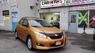 2010 Toyota Matrix Automatic! No Accidents!