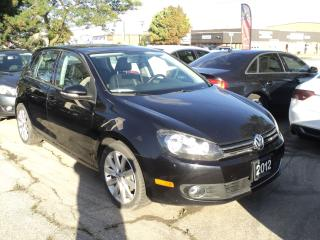 Used 2012 Volkswagen Golf Highline LEATHER SUN ROOF for sale in Oakville, ON