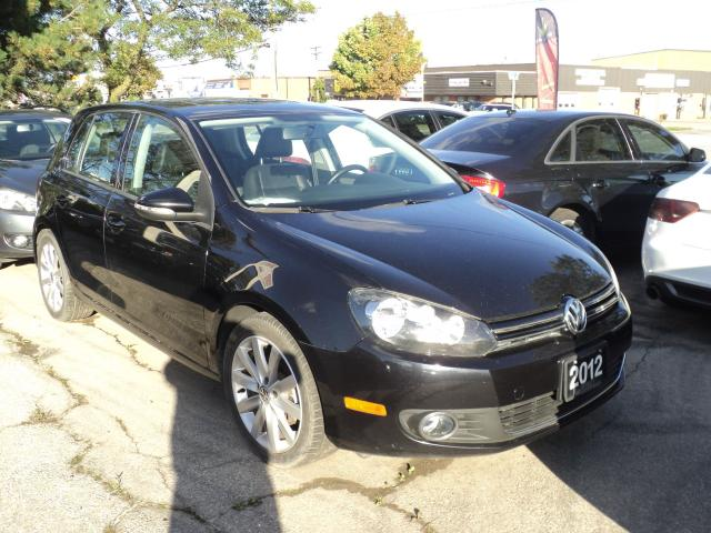 2012 Volkswagen Golf Highline LEATHER SUN ROOF