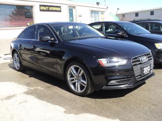 Used 2013 Audi A4 PRIMUM + LEATHER,SUN ROOF,NAVIGATION for sale in Oakville, ON