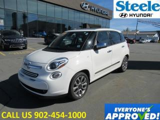 Used 2015 Fiat 500 Lounge Leather Sunroof heated seats low kms great deal! for sale in Halifax, NS