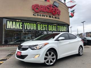 Used 2013 Hyundai Elantra Limited for sale in Toronto, ON