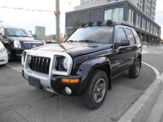 Used 2003 Jeep Liberty Renegade for sale in Brampton, ON