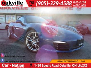 Used 2013 Porsche Boxster PDK | NAVI | BLUTOOTH | LOW KM! | MINT for sale in Oakville, ON