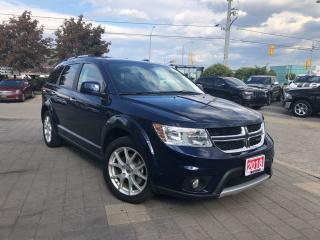 Used 2018 Dodge Journey GT**AWD**DVD**Navigation**Sunroof**7 Pass** for sale in Mississauga, ON