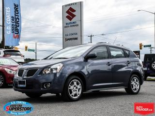 Used 2009 Pontiac Vibe AWD ~Only 75,000 KM ~Power Moonroof ~Fog Lamps for sale in Barrie, ON