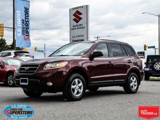 Used 2009 Hyundai Santa Fe GL AWD ~V6 ~Heated Leather ~Power Moonroof for sale in Barrie, ON