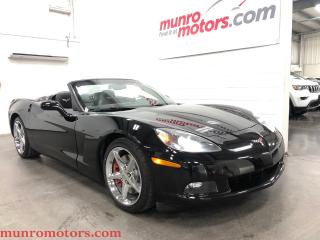Used 2011 Chevrolet Corvette 3LT Convertible Auto Low Kms Navigation for sale in St. George Brant, ON