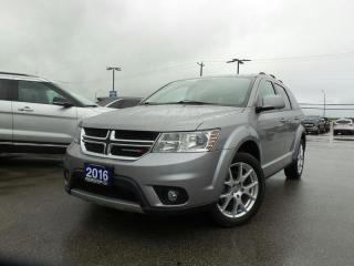 Used 2016 Dodge Journey SXT FWD 3.6L V6 for sale in Midland, ON