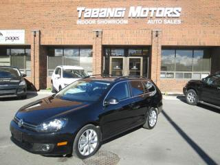 Used 2012 Volkswagen Golf Wagon HIGHLINE | DIESEL | NAVIGATION | CAMERA | ALLOYS | SUNROOF for sale in Mississauga, ON
