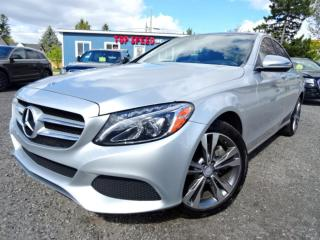 Used 2016 Mercedes-Benz C-Class C300 4MATIC PREMIUM/ROOF/NAVI/CERTIFIED for sale in Guelph, ON