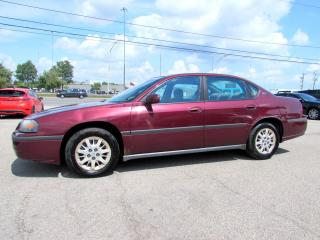 Used 2002 Chevrolet Impala V6 Automatic Sedan Keyless AC *Accident Free*One Owner* for sale in Milton, ON
