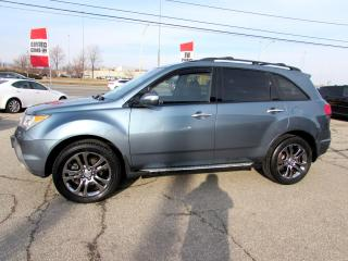 Used 2007 Acura MDX PREMIUM PKG 7 PASSENGER LEATHER CAMERA SUNROOF CERTIFIED 2 YR WARRANTY for sale in Milton, ON