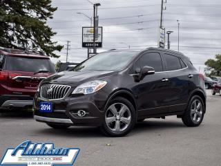 Used 2014 Buick Encore Leather Navigation Leather Rear Camera for sale in Mississauga, ON