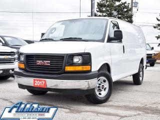 Used 2017 GMC Savana 2500 1WT -  Power Doors for sale in Mississauga, ON