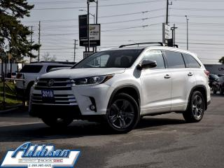 Used 2018 Toyota Highlander Limited AWD - Navigation for sale in Mississauga, ON