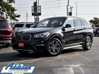 Used 2017 BMW X1 Xdrive28i Sports Activity Vehicle Leather Sunroof for sale in Mississauga, ON