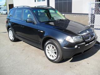 Used 2005 BMW X3 4X4 3,0i AUTOMATIC = $3900 for sale in Laval, QC